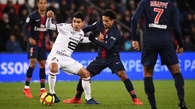 Rennes face à Paris