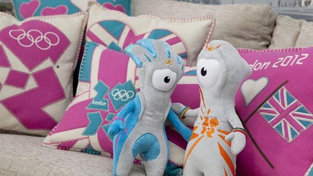 Londres compte vendre plus de 5 millions de peluches à l'effigie des mascottes Wenlock et Mandeville.