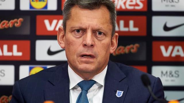 Martin Glenn, le président de la FA