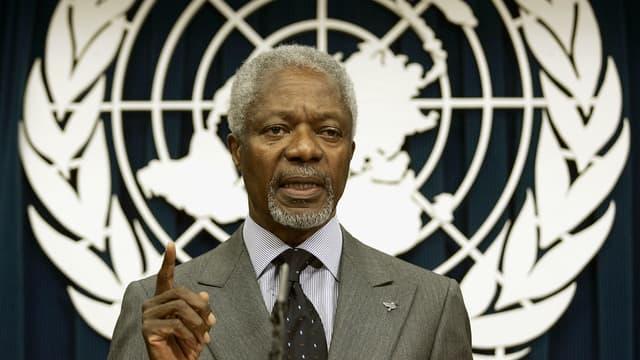 L'ancien secrétaire général de l'ONU Kofi Annan est mort à 80 ans.