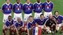 L'équipe de France qui a battu l'Arménie en mars 1999