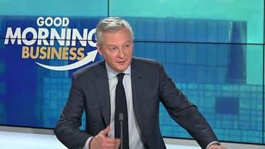 Carrefour, Air France, dette: Bruno Le Maire était l'invité de Good Morning Business ce mercredi
