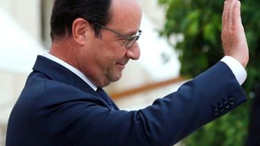Près de 86% des personnes interrogées sont mécontentes de l'action de François Hollande, d'après le baromètre Ifop pour le JDD du 21 septembre.