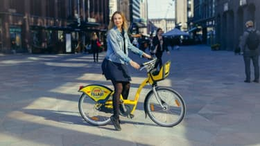 Les vélos libre service de Smoove en Finlande