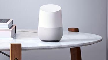 Le boîtier Google Home