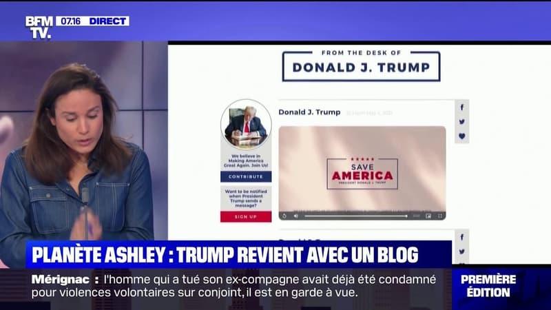 Banni de Facebook pour au moins 6 mois, Donald Trump revient avec un blog