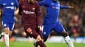 N'Golo Kanté face à Lionel Messi - AFP