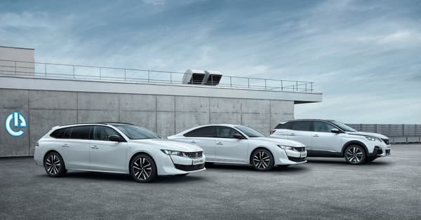 The Peugeot 508 SW, 508 and 3008.