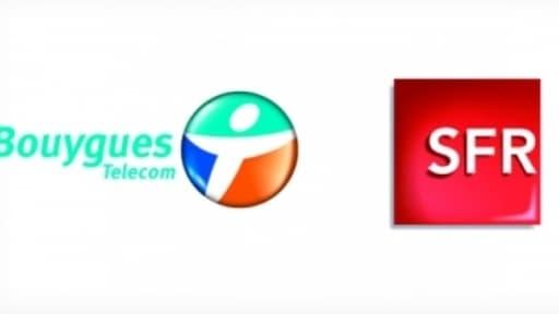 Bouygues Telecom et SFR vont partager une partie de leurs réseaux mobile.